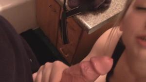 Mya Lane Practices Deep Throating
