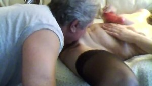 Step Dad Home Early and Licks My Pussy and Anal