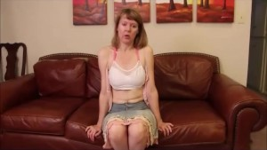 Shy Stepmom Exposes Breasts