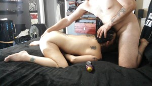 REAL AMATEUR GF DEEPTHROATS MY COCK THEN SHOVES DEEP IN HER ASS, HARD ANAL!