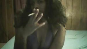 smoking close up