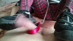 CBT with work shoes