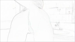 OKC GIRL IN BATHROOM