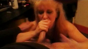 Queenmilf Great facefuck with swallow