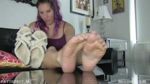 Meggerz Worn Slippers
