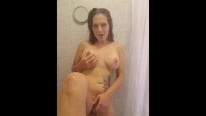 Shower and orgasam