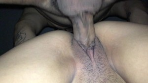 Wife bent over taking this thick dick