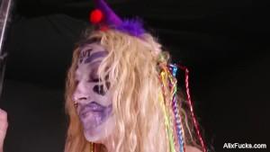 Fucking a Sexy Clown Girl