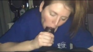 the mrs. goes to town on my bbc slurping blowjob
