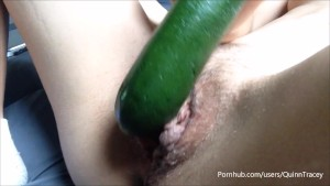 my pussy ate zucchini for lunch