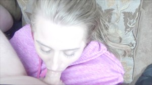 Deepthroating Under The Influence - Blonde Milf Face Fuck & Facialized POV!
