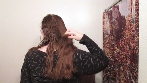 Hair Journal: Combing Long Curly Strawberry Blonde Hair - Week 14 (ASMR)