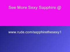 Sexy Sapphire's Phat Juicy Ass