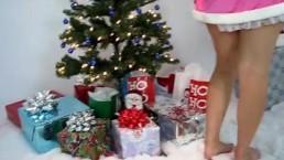Christmas Strip Show...