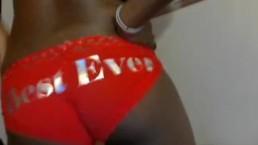 Ebony teen X-mas...