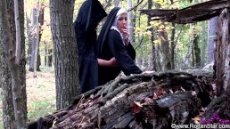 Demon Fucks Smoking Nun...